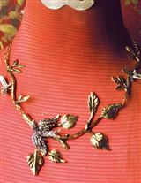 GILDED SWALLOW NECKLACE
