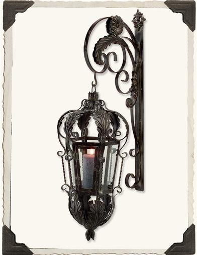 CHATSWORTH CANDLE LANTERN