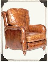 AUBURN LEATHER RECLINER