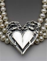 Couer D'argent Necklace