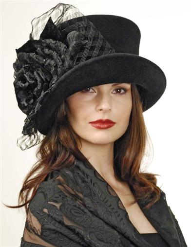 MADAME HATTER TOP HAT