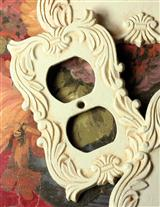 ENGLISH TUDOR ESTATE OUTLET COVER