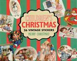 VINTAGE HOLIDAY CHILDRENS X-MAS STICKERS