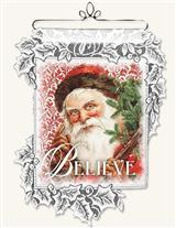 BELIEVE LACE WALL HANGING