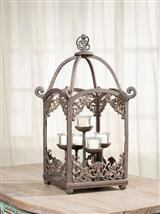 CANDLE GAZEBO VOTIVE HOLDER