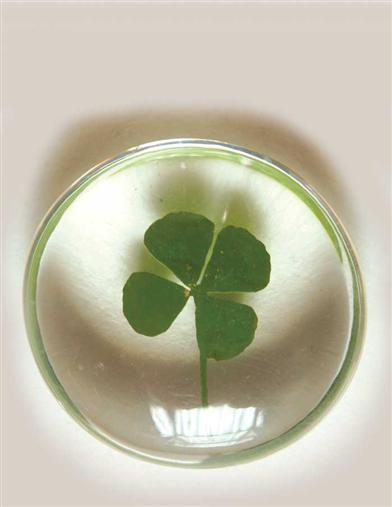 4 LEAF CLOVER POCKET TOKENS (PAIR)