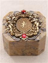 A TOKEN OF LOVE SOAPSTONE BOX