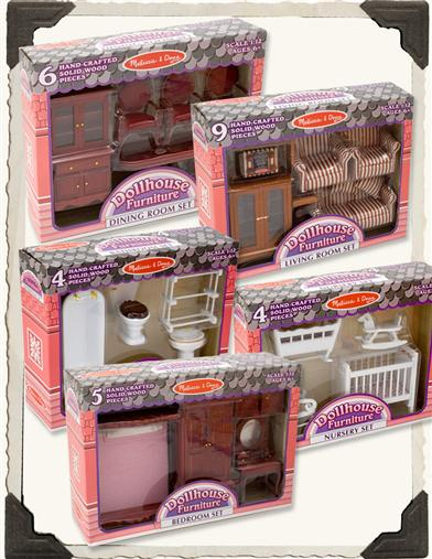Victorian Dollhouse Furnishings