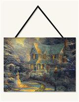 Thomas Kinkade Illuminated Tapestry