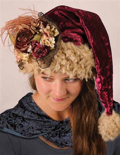 'MADAME CLAUS' ROMANTIC CAP
