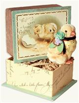 """LE BELLE PEEP"" CHICK & BOX"