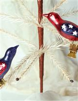 PATRIOTIC BLOWN GLASS (LIBERTY LARKS)