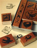 BIRDS AND NESTS STAMPS