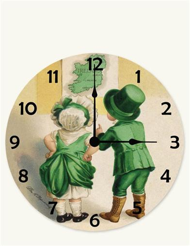 YOUNG DUBLINERS WALL CLOCK