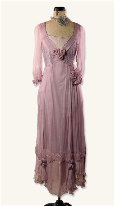 MY MAUVE DRESS