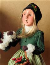 BYERS' CHOICE GRETEL WOODLAND GIRL