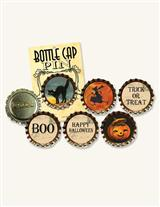 'SODA BOTTLE CAPS' HALLOWEEN PINS