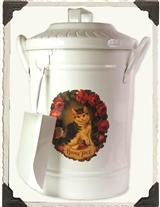 PET FOOD CANISTER (HOME PET KITTY)