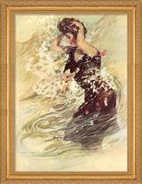 SIREN OF THE SURF FRAMED PRINT
