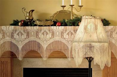 CANDLELIGHT LACE LAMP TOPPER
