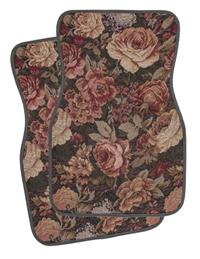Tapestry Car Mats (Brown)