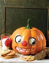 OL' PUMPKIN HEAD COOKIE JAR