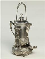 SILVER TEA TIPPER