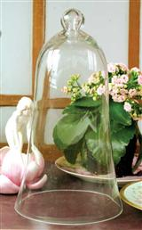 BELL JAR WITH SLATE BASE