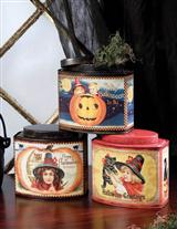SWEET WITCHES TINS (SET OF 3)