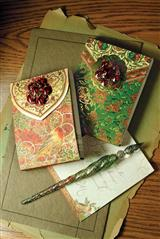SET OF 2 JEWELED MINI NOTEPADS
