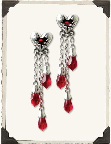 BLEEDING HEART EARRINGS