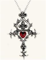 PASSION CROSS NECKLACE