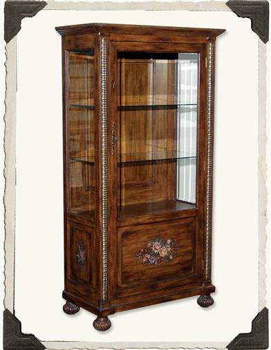 ENCHANTED COTTAGE CHINA CABINET