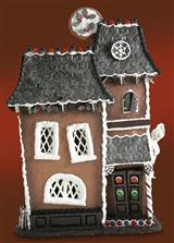 BYERS CHOICE HAUNTED GINGERBREAD HOUSE     IA