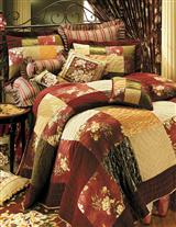 VELVET PATCHWORK QUILT (KING)