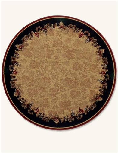 VINEYARD RUG 7 FT ROUND                  IA