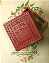 SANTA SECRETS BOX ORNAMENT