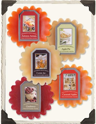 AUTUMN TART SAMPLER (SET OF 5)