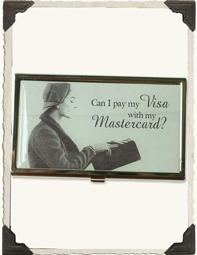 CAN I PAY MY VISA WITH MY MASTERCARD?