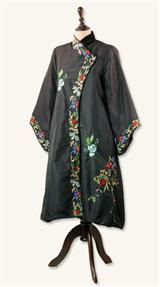 BLACK FAR EAST COAT