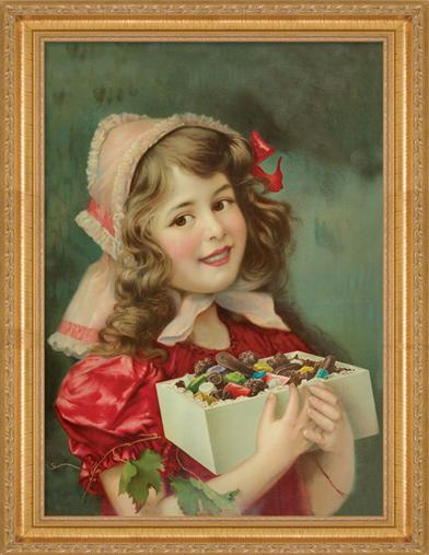 SARAH'S SWEET TOOTH FRAMED PRINT
