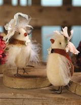 FANCY SCHMANCY CHICKS (PAIR)