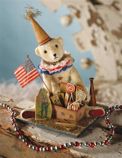 TEDDY'S BOX OF PATRIOTIC TOYS
