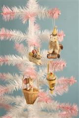 PETITE PRINTEMPS MINIATURE ORNAMENTS (SET OF 4)