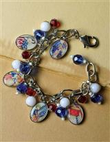 Young George & Martha Charm Bracelet