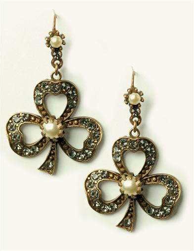 CLARIN'S CLOVER EARRINGS