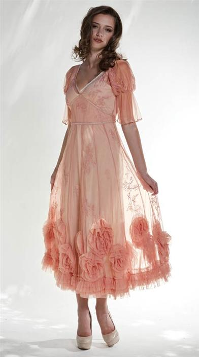 PEACHY DREAM DRESS