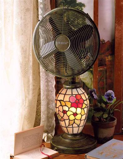 TIFFANY FAN LAMP