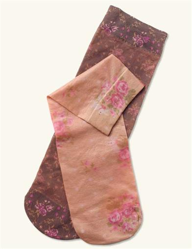 HOPELESS ROMANTIC TROUSER STOCKINGS (FLORAL 2 PRS)