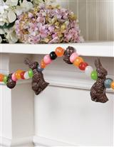 JELLY BEANS & CHOCOLATE EASTER CANDY GARLAND